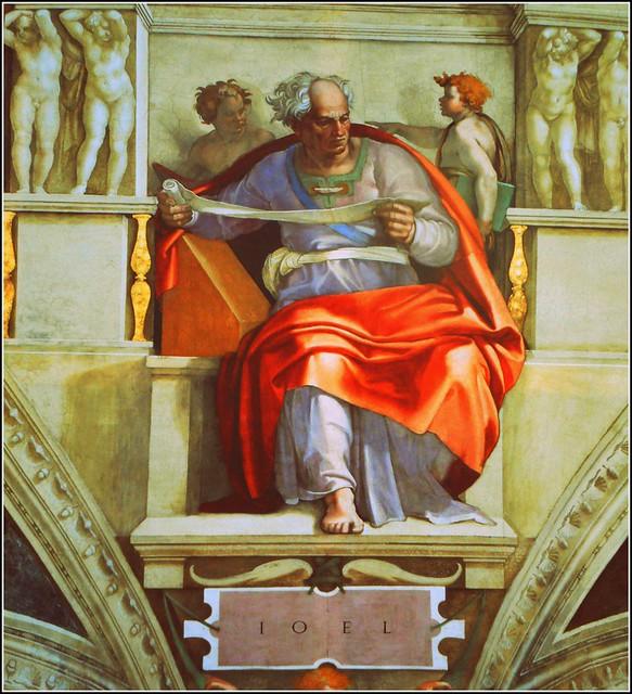 IoeI ...By the Artist Michelangelo ..