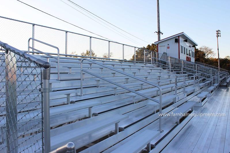 Switzerland of Ohio Local School District | Monroe Central High School Bleacher Renovations