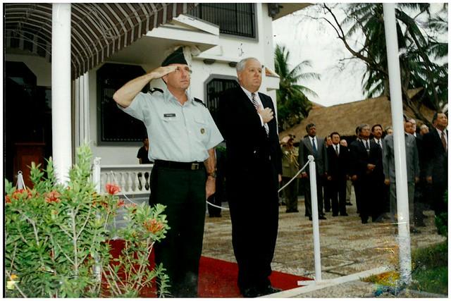 Unidentified Ceremony at Embassy in Phnom Penh 2000