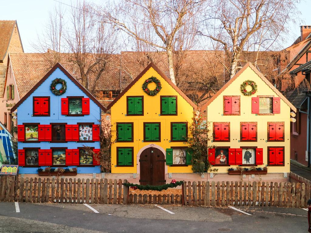 Casas de Adviento en Turckheim