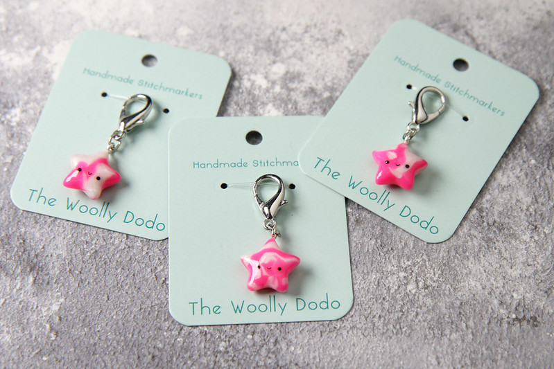 Stitch Marker from The Woolly Dodo