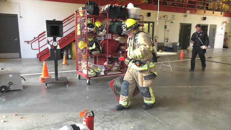 Firefighters Burn Muscle With Hustle