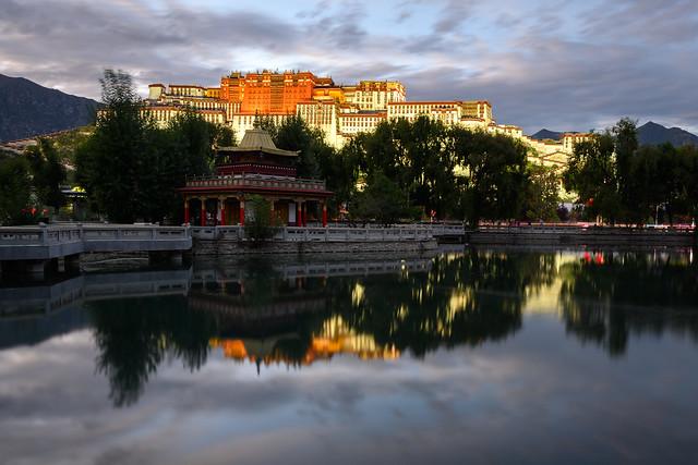 Evening in Lhasa