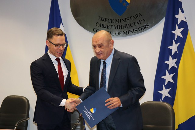 Bosnia and Herzegovina signs landmark agreement to strengthen its tax treaties