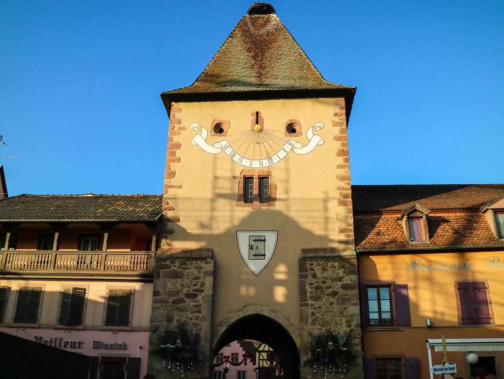 Edificios en Alsacia