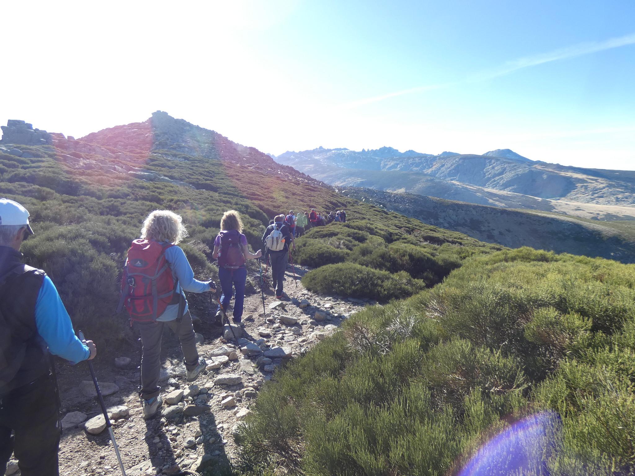 MARCHA-0570 Pico de la Mira Circo de Gredos Senderismo Sermar