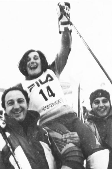 Blanca y Paco - Copa del Mundo Sestriere 87
