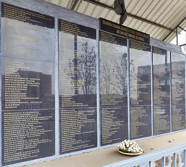 Rwanda - Kigali - mémorial de l'église de la Sainte-Famille