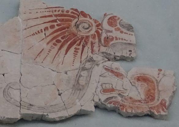 DSC00242GuatemalaGuatemalaCityNacionalMuseumOfArcheologyAndEthnologySunGod02Fragment