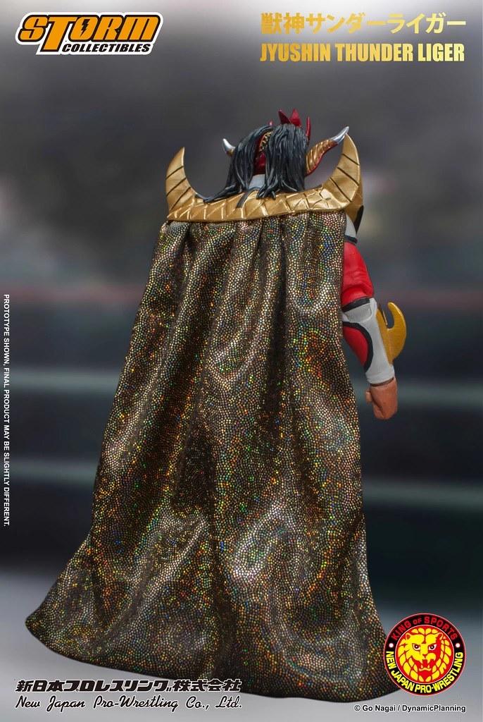 次重量級摔角手之典範!STORM COLLECTIBLES《新日本摔角》 獸神閃電‧萊卡之立體可動人形(JYUSHIN THUNDER LIGER ACTION FIGURE)