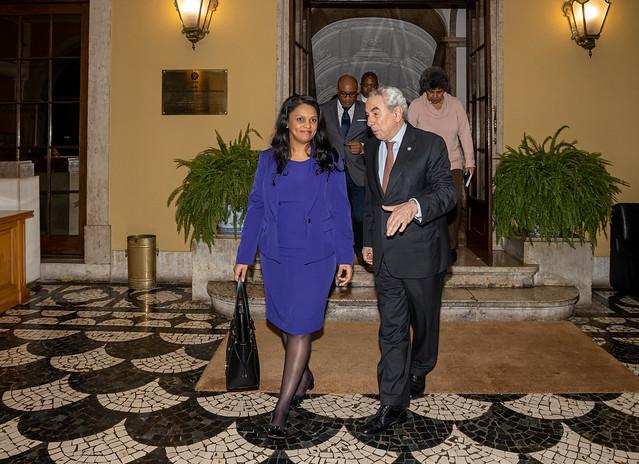 19.10. Secretário Executivo recebe Ministra dos Negócios Estrangeiros da Guiné-Bissau