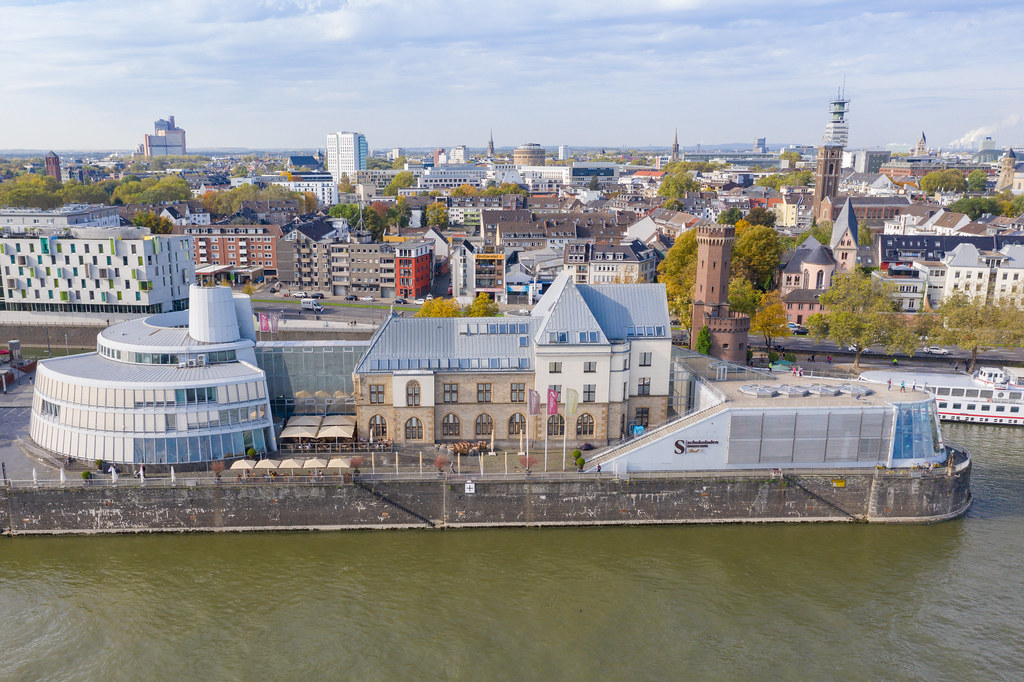Cologne Chocolate Museum Germany Dronepicr Flickr