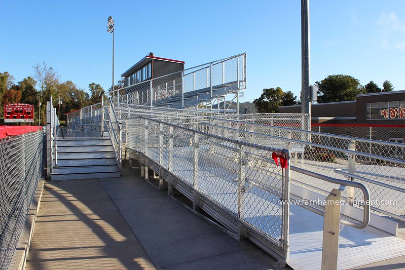 Switzerland of Ohio Local School District | River High School Bleacher Renovations & Upgrades
