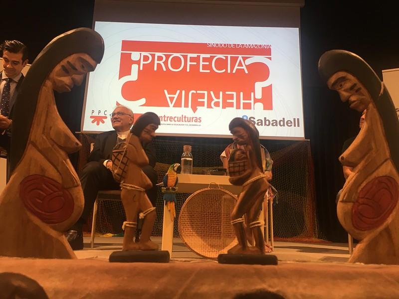 Las imágenes de la Pachamama, en Madrid