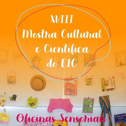XVIII Mostra Cultural 2019 - Oficina Sensorial
