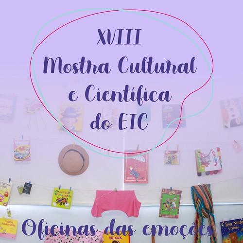 XVIII Mostra Cultural 2019 - Oficina da Emoções