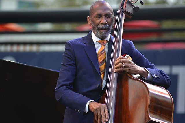 The legendary bassist Ron Carter