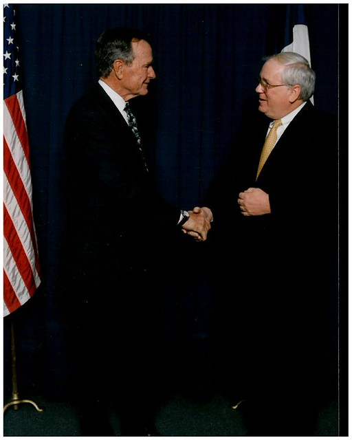 GHWB and Amb. Quinn 2000