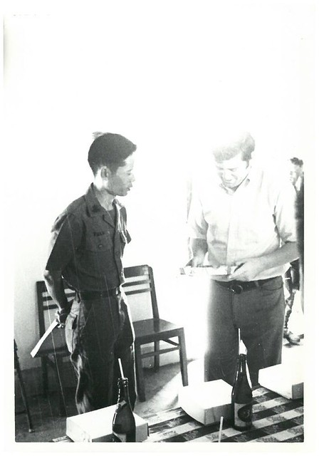 District Senior Advisor in Duc Ton Vietnam in 1970