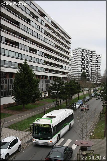 Heuliez Bus GX 317 GNV – Semitan (Société d'Économie MIxte des Transports en commun de l'Agglomération Nantaise) / TAN (Transports en commun de l'Agglomération Nantaise) n°436