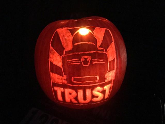PRR T1 Trust Halloween Jack O Lantern Pumpkin!
