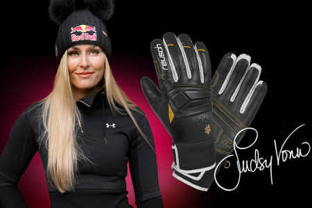 Vyhrajte rukavice Reusch Lindsey Vonn signatured