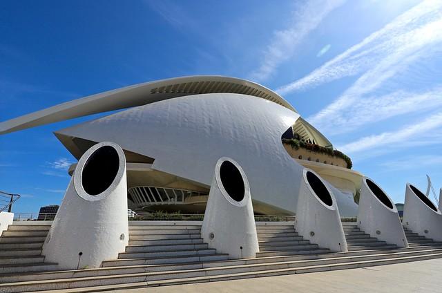 Palau de les Arts Reina Sofia / Ciutat de les Arts i les Ciències / Valencia
