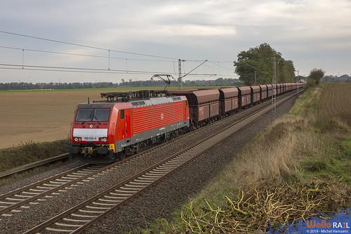 189 033 . DB Cargo . 48712 . Rommerskirchen . 30.09.19.