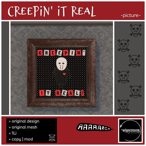 Widdershins - Creepin' It Real -Picture- GIFT!