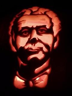 Good Omens pumpkin