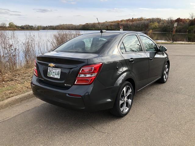 2019 Chevrolet Sonic Premier sedan