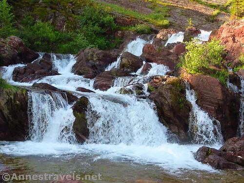 Red Rock Falls, Glacier National Park, Montana
