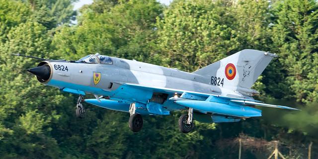 Romanian Air Force MIG-21MF-75 Lancer 6824