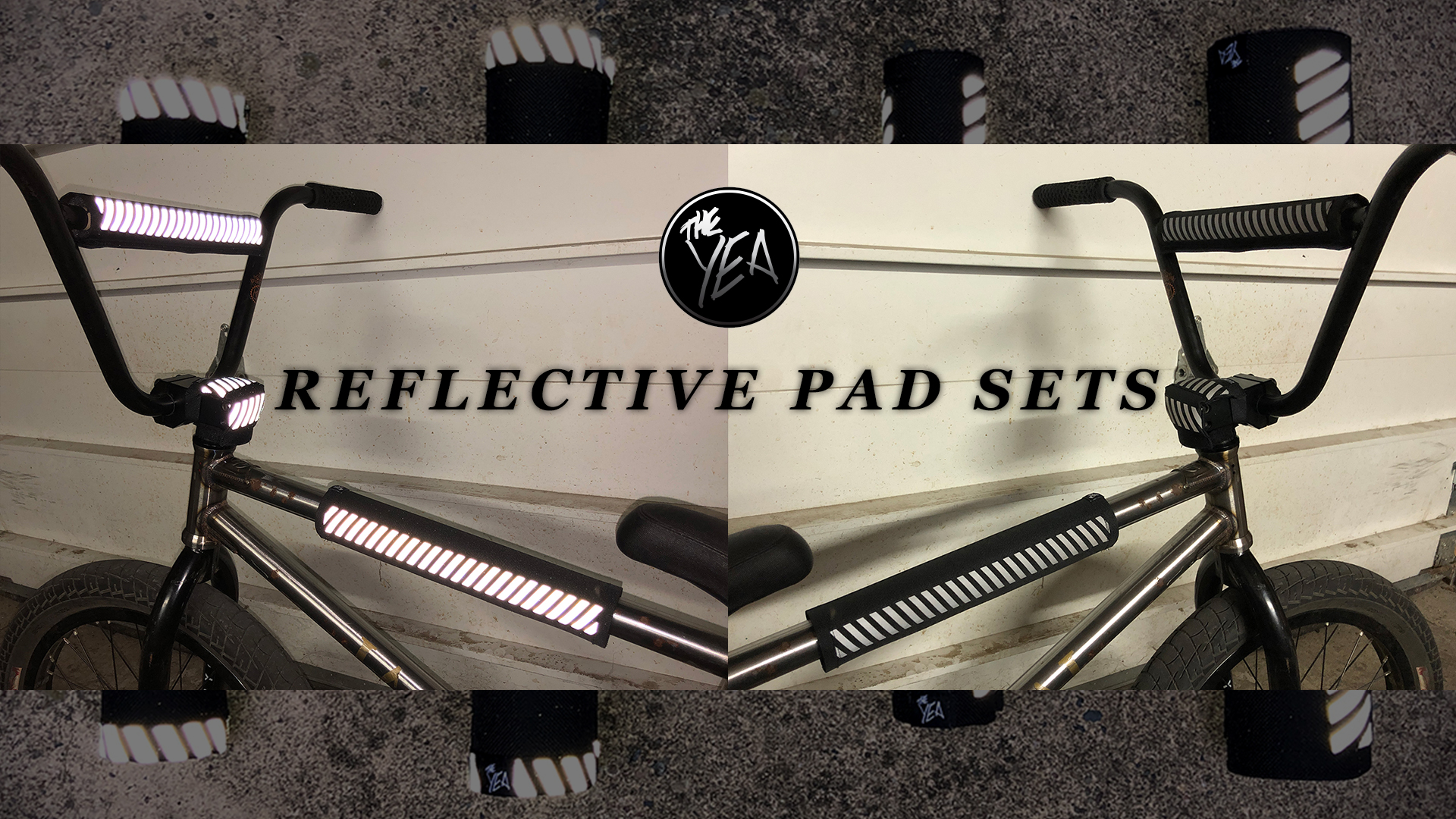 Reflective BMX Pad Sets