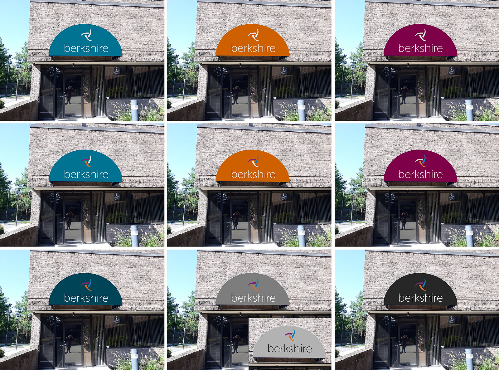 Multicolor Awning Choices