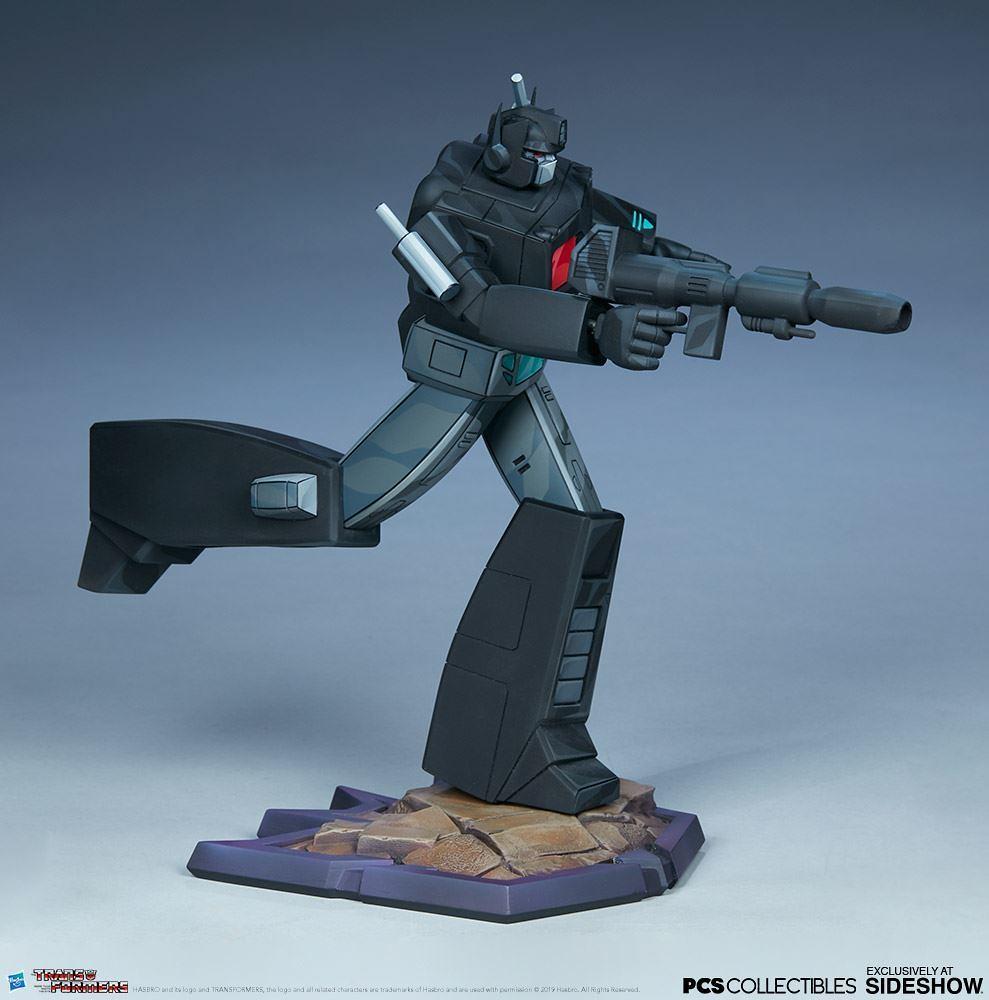 將阻擋在前的敵人通通摧毀! Pop Culture Shock × Sideshow Collectibles《變形金剛:G1》Classic Scale 暗黑柯博文 Nemesis Prime 全身雕像