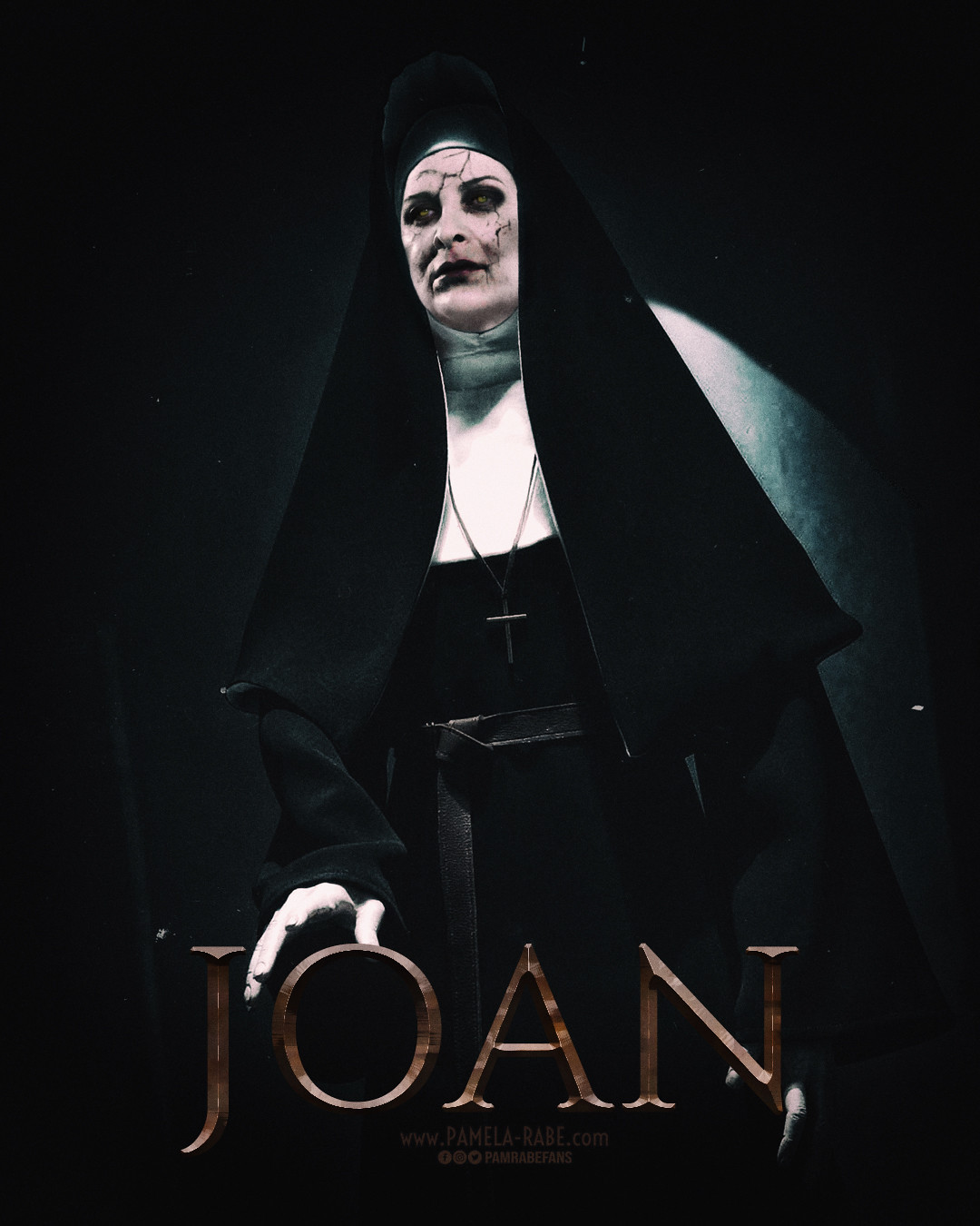 Pamela Rabe | Joan Ferguson as The Nun/Valak | Happy Halloween 2019