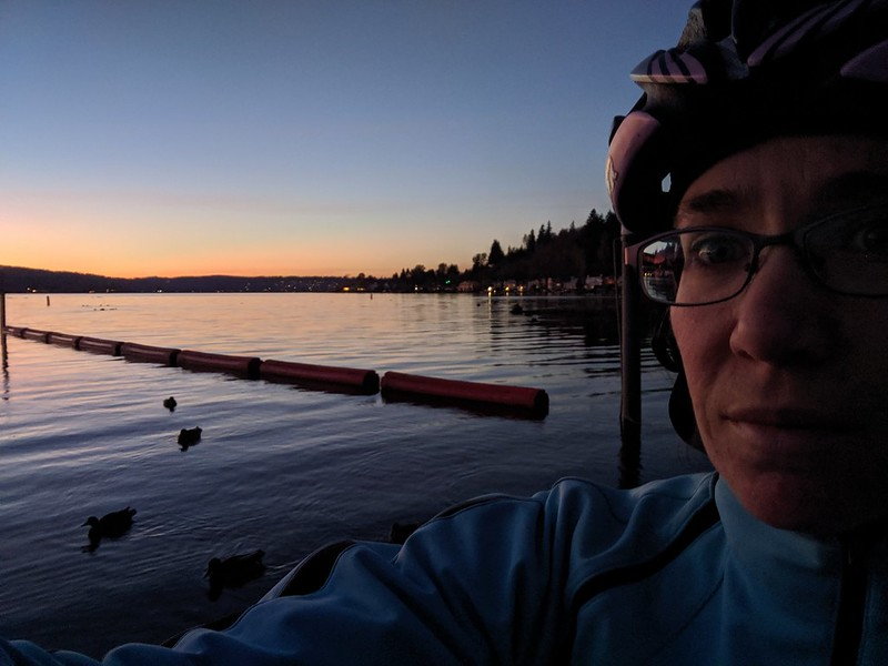 Lake Sammamish Selfie