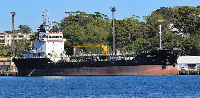 Tanker 'Vitality'