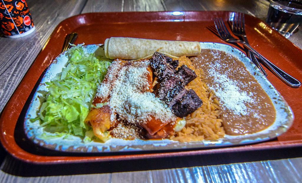 Rancho del Zocalo Carne Asada platter DL