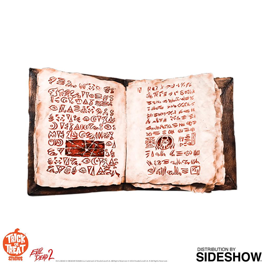 能讓惡靈降臨世間的不祥之書! Trick or Treat Studios《鬼玩人》死亡之書 Book of the Dead - Necronomicon 1:1 比例道具複製品