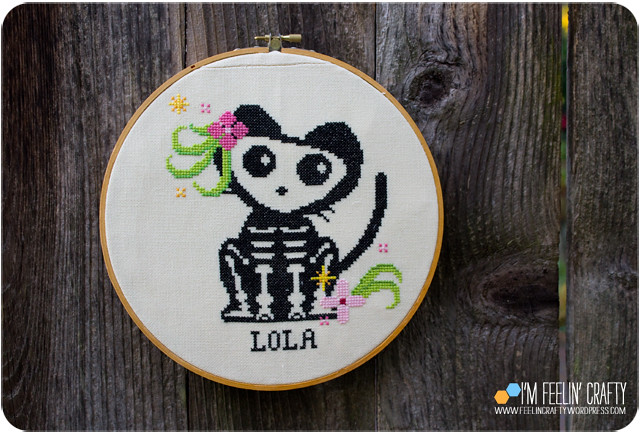 RIP Lola Crossstitch-Whole-ImFeelinCrafty
