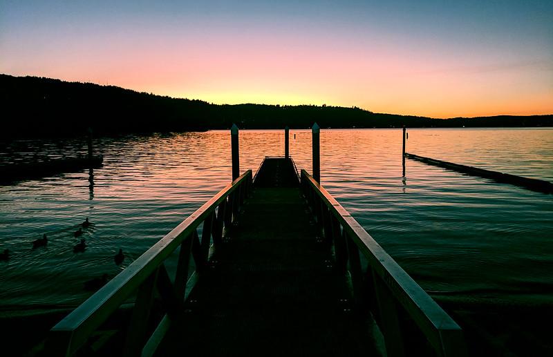Lake Sammamish Dock Filtered
