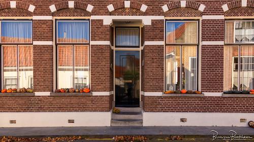 Autumn door & Pumpkins (DDD/TDD)