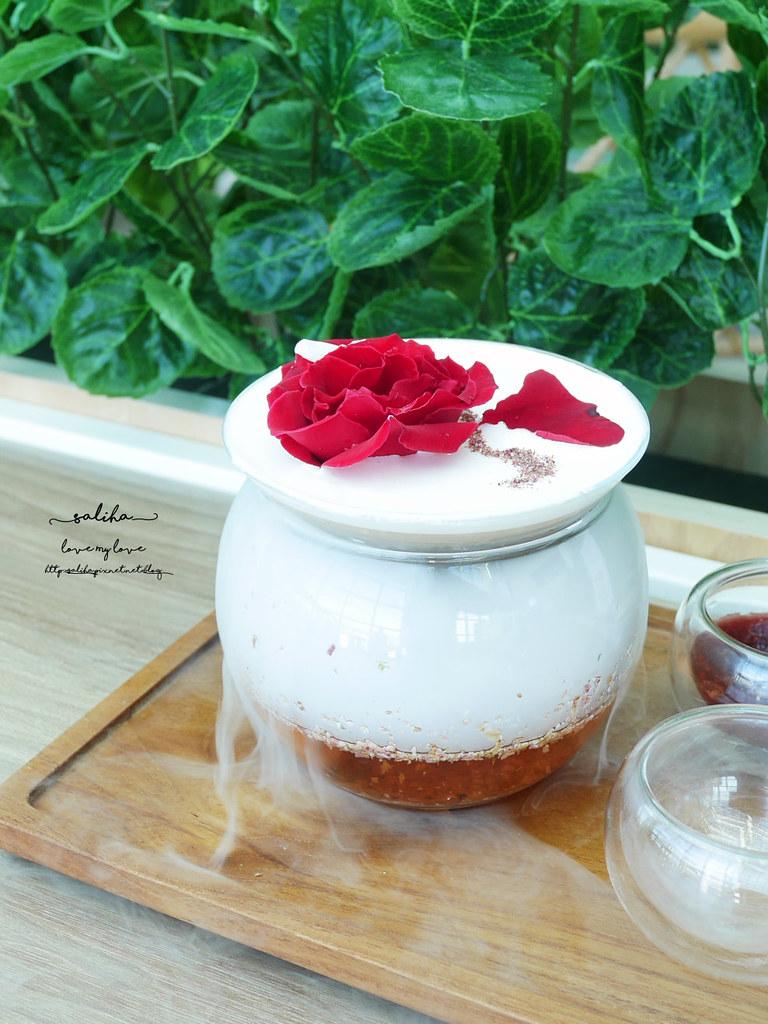 台北東區景觀餐廳推薦成真咖啡超夢幻玫瑰咖啡ig打卡必拍美食下午茶 (2)