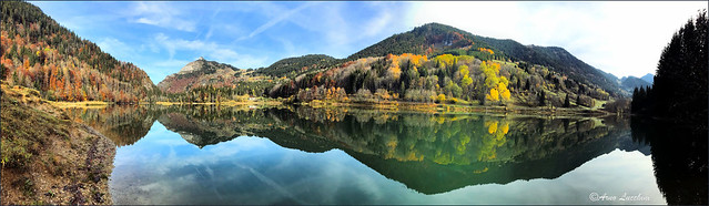 Panorama d'automne