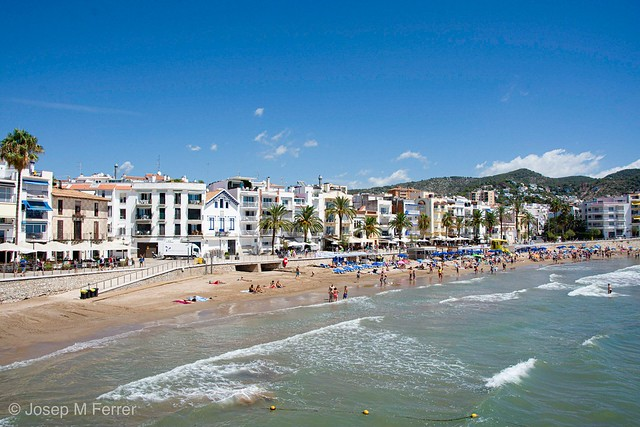 Playa Sant Sebastiá, Sitges