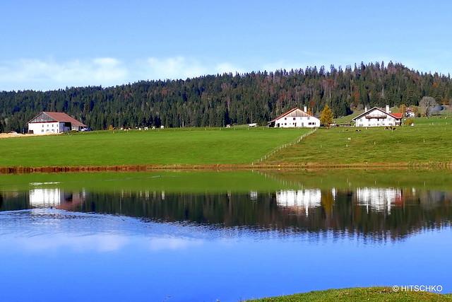 Vallée de La Brévine -  Lac des Taillères