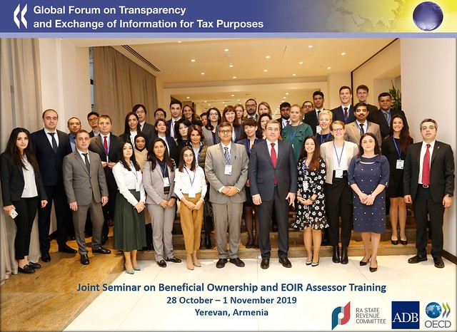 Global Forum delivers a seminar in Armenia on beneficial ownership information and the fight against tax evasion