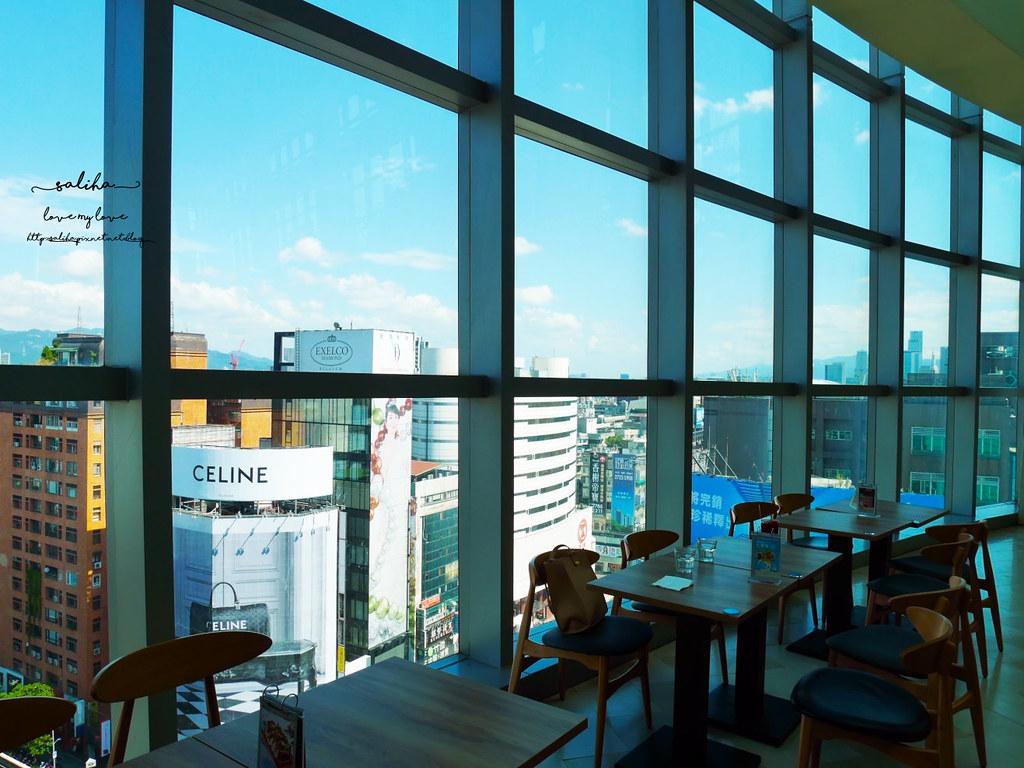 台北sogo必吃景觀餐廳推薦成真咖啡Come True Coffee復興店咖啡廳 (1)